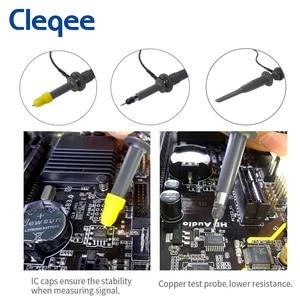 Image 5 - Cleqee P6100 2 Chiếc 100MHz BNC Dao Động Ký Đầu Đo Bộ DC 100MHz Kẹp Cá Sấu Kiểm Nghiệm Cho Tektronix HP X1/x10