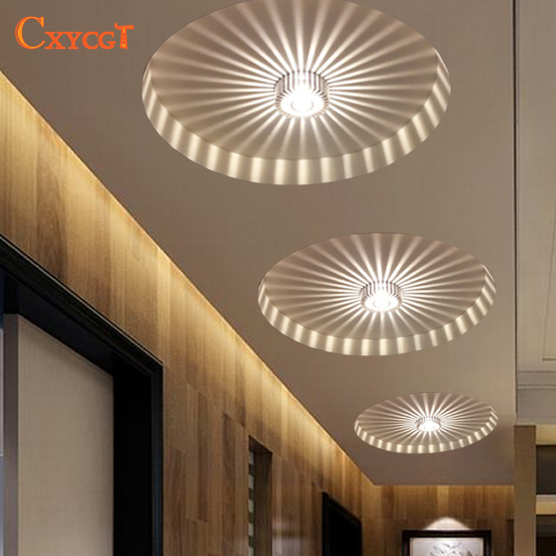 Background Light  Mini LED Ceiling Light For Art Gallery Decoration Front Balcony Lamp Porch Light Corridors Light Fixture