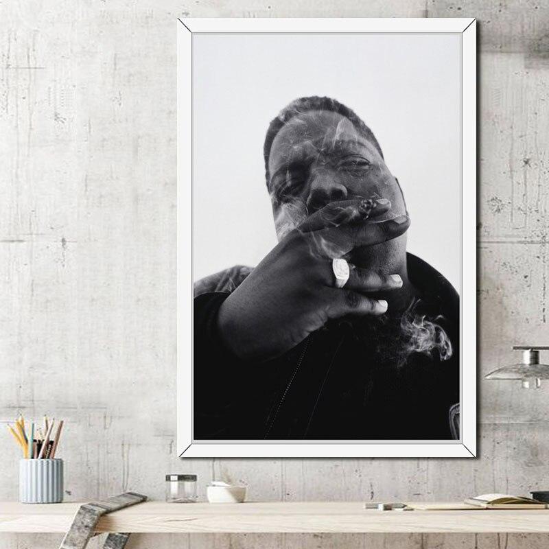 主图_P300_The_Notorious_B_I_G_Biggie_Smalls_Hip_Hop_Gangsta_Rap_Smoke_Cigarettes_Art_Painting (1)