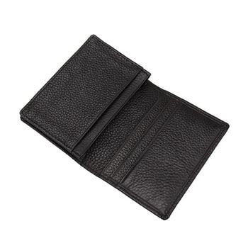 Leather Men Wallet  Leather Short  Wallets Office Male Wallet Mature Purse