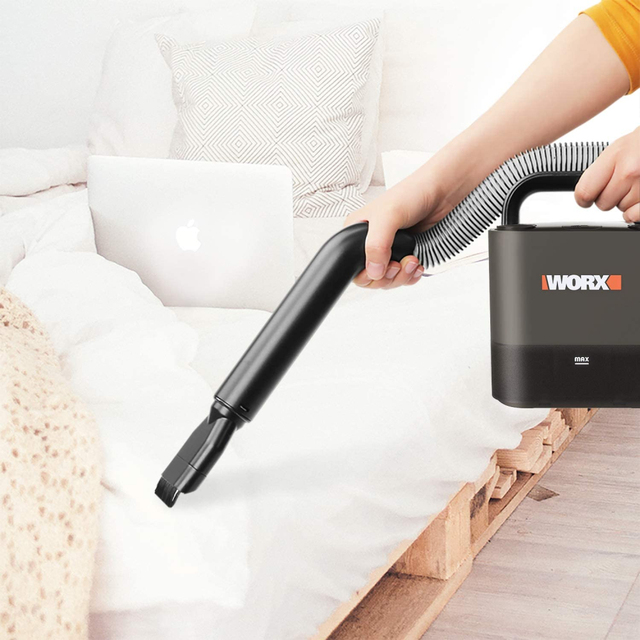 Worx Portable Car Vacuum Cleaner WX030 20V Cordless 10Kpa Powerful Cyclone Suction Handheld Cleaner for Car Home Auto Aspirador 4