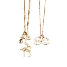 YWZIXLN Boho Charm Alloy Metal Giraffe Hollow Heart Pendant Fashion Necklaces Bijoux For Women Elegant Choker Jewelry N046 ywzixln boho charm alloy metal bead decor fashion necklaces bijoux for women elegant choker jewelry n048