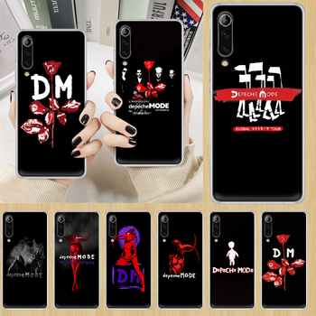 Depeches band Mode rock Phone Case cover For XIAOMI redmi note K 4 5 6 7 8 9 10 20 30 3 A X Pro ultra transparent hoesjes image