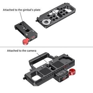 Image 4 - SmallRig DSLR kamera hızlı çıkarma plakası ofset kiti BMPCC 4K & 6K ve Ronin S vinç 2 moza hava 2 Gimbal 2403