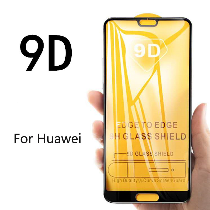 9D Full Cover Tempered Glass For Huawei Mate 20 P30 Pro P20 Lite Glass Smart Screen Protector Glass For Huawei Honor 8 20