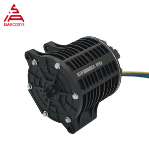 SiAECOSYS QS 138 3000W 6000W max continous 72V100KPH V2 mid drive motor with sprocket design