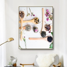 Canvas Art Painting Scented tea Afternoon tea Art Poster Wall Decor Modern Home Decoration For Living room Office Tea room