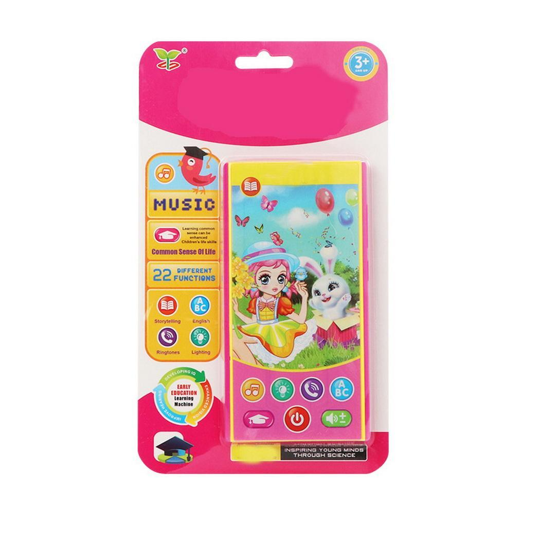 Children Learning English Machine Kids Educational Music Phone Toy 3 X AAA Battery(Not Included) Gift