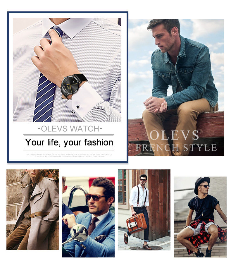 masculino feminino couro moda casual par relógios
