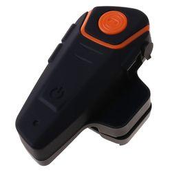 Waterproof BT-S2 Multi BT Interphone 1000M Motorcycle Bluetooth Helmet Intercom B36B