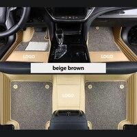 kalaisike Custom car floor mats for Opel all models Astra Antara Vectra b c g h zafira a b auto accessories car styling