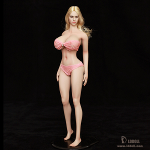 LDDOLL1/6 Silicone Flexible Seamless Figure Female Extra Large Breast Body<27xl>Action figure for collection