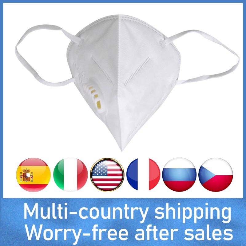 PM2.5 Filter RS2 DS2 Mask Unisex Anti-Fog  Mask Health Protection Disposable Anti-Dust Mask KF95 Ffp3 2 Mask N95 Mask Respirator