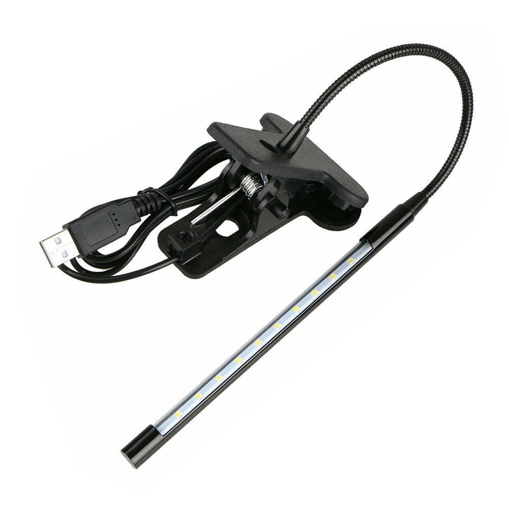Регулируемый светодиодный зажим поворотный зажим на настольная лампа домашний декор чтение в постели из металла настенный светильник с зарядкой от USB Настольная Гибкая изучения