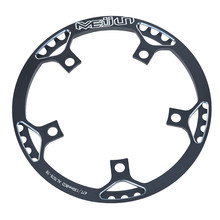 1 Piece Bike Chainring Chain BCD Ring Road Bike Circle Crankset Single Plate Bicycle Crankset CNC Large Toothed 130mm 45/47T(China)