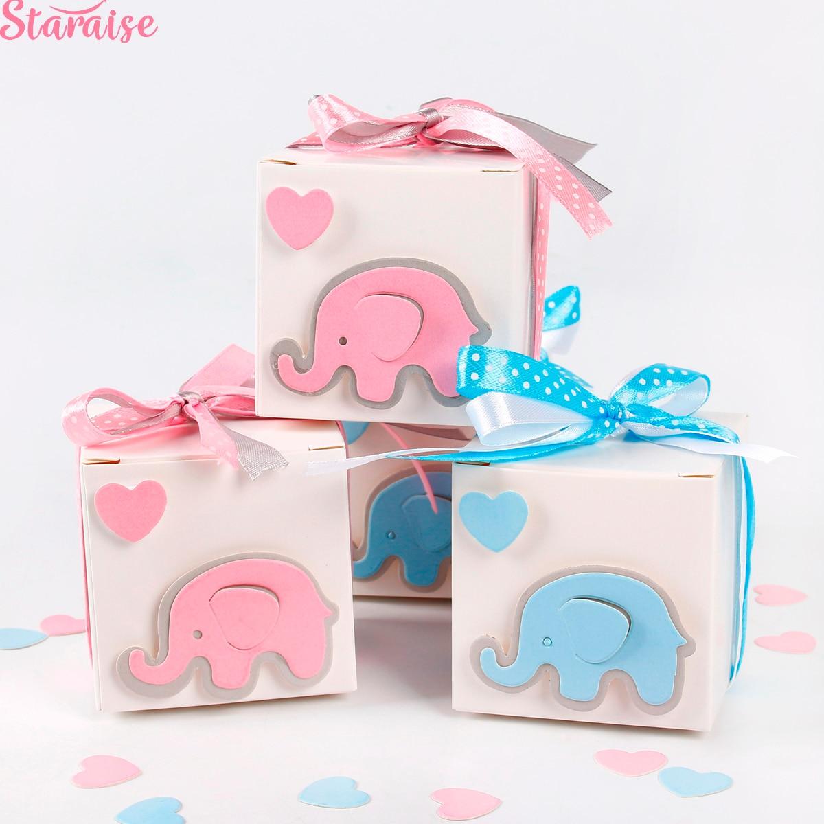 Staraise DIY Cartoon Animal Candy Box Baby Shower Birthday Party Wedding Gift Decoration Kids