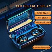 IPX7 Depth Waterproof Design TWS Touch Wireless Bluetooth 5.