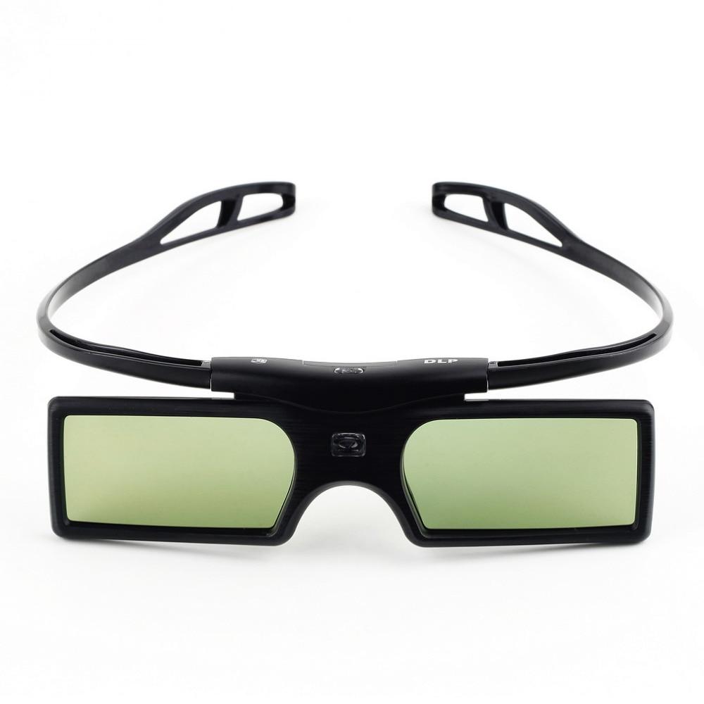 Newest G15-DLP 3D Active Shutter Glasses For Optoma for LG for Acer DLP-LINK DLP Link 3D Projectors 96-144Hz