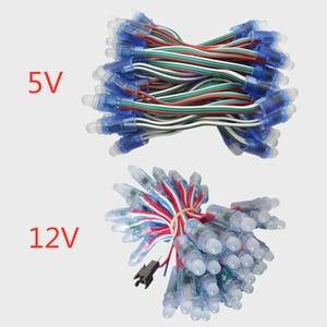 Image 1 - 1000 個フルカラーWS2811 ic rgbピクセルledモジュールライト装飾のために大きい広告ライトDC5V/12 v