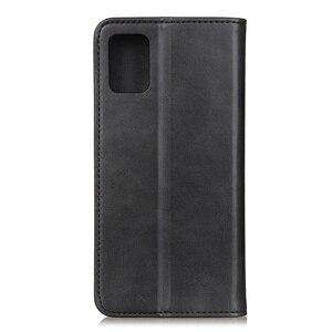 Image 4 - מקרה טלפון עבור Samsung Galaxy A51 A71 מקרה כיסוי עור פרה עור מגנטי עמיד הלם כרטיס חריץ Flip ספר מקרה עבור סמסונג a51