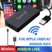 Carlinkit Carplay A3 Wireless for Apple Carplay Adaptador Android Auto Dongle Car Play Iphone USB CAR WIFI IOS GPS Mirror Link carplay usb dongle for android car navigation gps with smart link supports ios phones