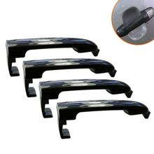 4pcs set outside door handle front rear exterior door handles for hyundai sonata 4Pcs/set Black Outside Door Handle Front and Rear Exterior Door Handles for Hyundai Sonata 826513K000