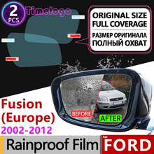 цена на For Ford Fusion Europe Model 2002~2012 Full Cover Anti Fog Film Rearview Mirror Accessories 2003 2005 2006 2007 2008 2009 2010