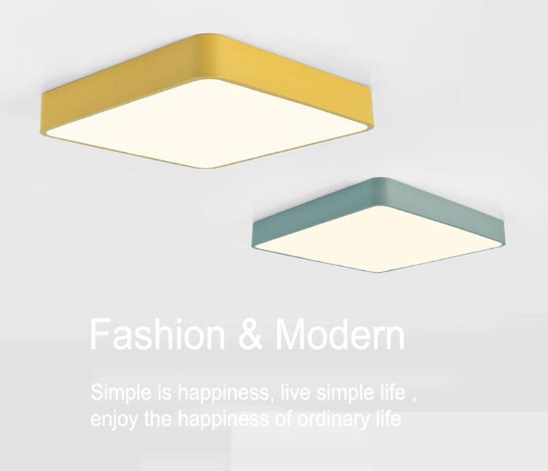 Macaron nórdico moderno simples quare 5 cores