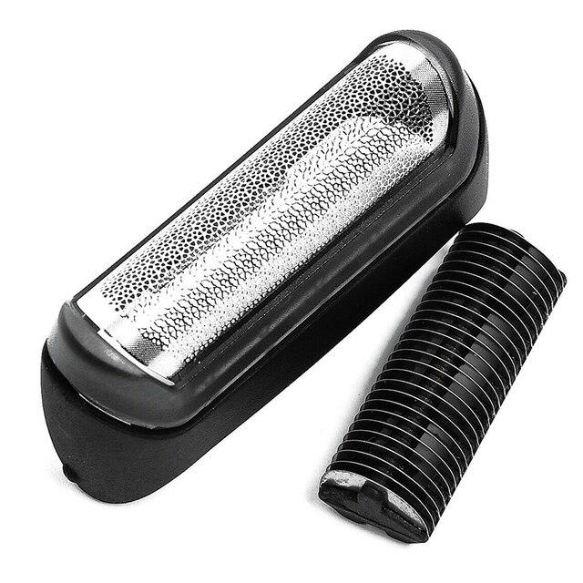 Rasoir remplacement tête feuille rasoir lame Cutter tête feuille remplacer pour Braun 10B série 190 180 170 1735 Z60 série accessoire