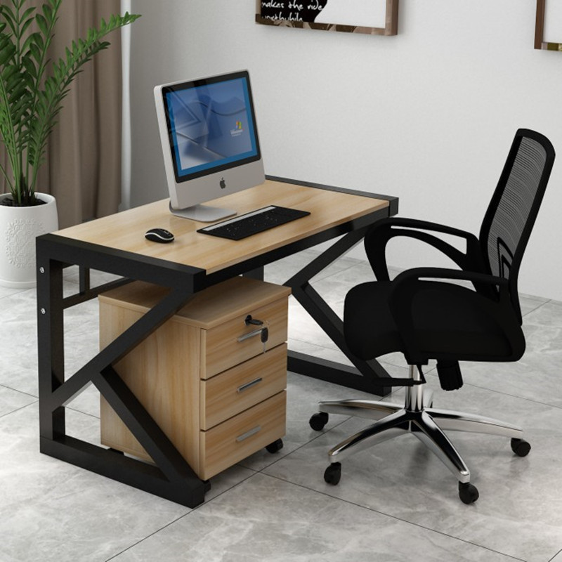 Minimalist Modern Desktop Computer Desk Household Writing Desk Wood Office Table Economical Office Desk Simple Table
