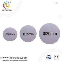 125 KHZ Coin Disc PVC Tags RFID Rewrittable Chip TK4100 T5577 EM4200 Proximity Round Sticker 3M Glue Self-Adhesive 5/10/50PCS