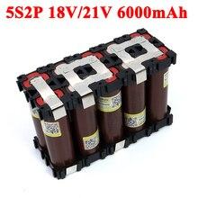 5S2P 18650 HG2 6000mAh High power 20 amps 21V 25.2V for Screwdriver batteries weld Bracket battery pack