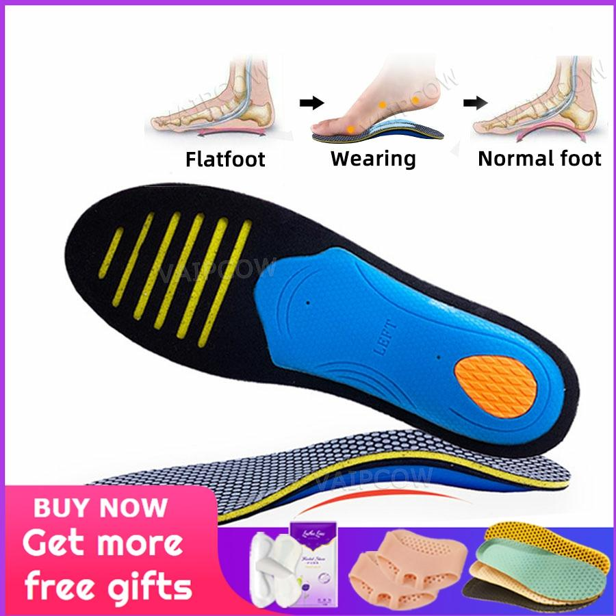 Men/'s Women/'s Plantar Fasciitis Orthotic Shoes Inserts Arch Support Insoles Pads
