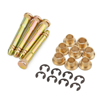Door Hinge Pin & Bushing Repair Kit For Honda Civic Accord CR-V CRX CX DX EX SI EG6 B16 D16 EK EG EH EJ image
