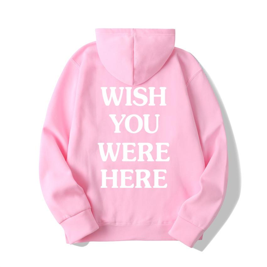 TRAVIS SCOTT ASTROWORLD WISH YOU WERE HERE HOODIES fashion letter ASTROWORLD HOODIE streetwear Man woman Pullover Sweatshirt 5