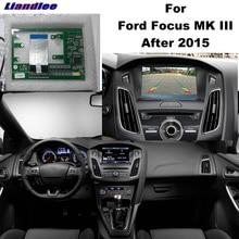 Liandlee Parkplatz Kamera Interface Umge Back Up Park Kamera Kits Für Ford Focus MK 3 2015 ~ 2018 Original Display verbesserte