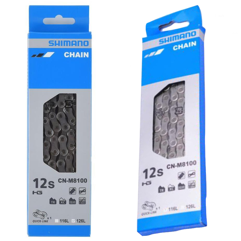 New 2019 Shimano Deore XT CN M8100 Chain Mountain 12 speed 126 116 Quick Links
