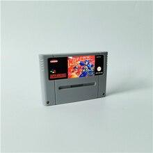Mega man 7 megaman 7 cartão de jogo de ação eur versão inglês idioma