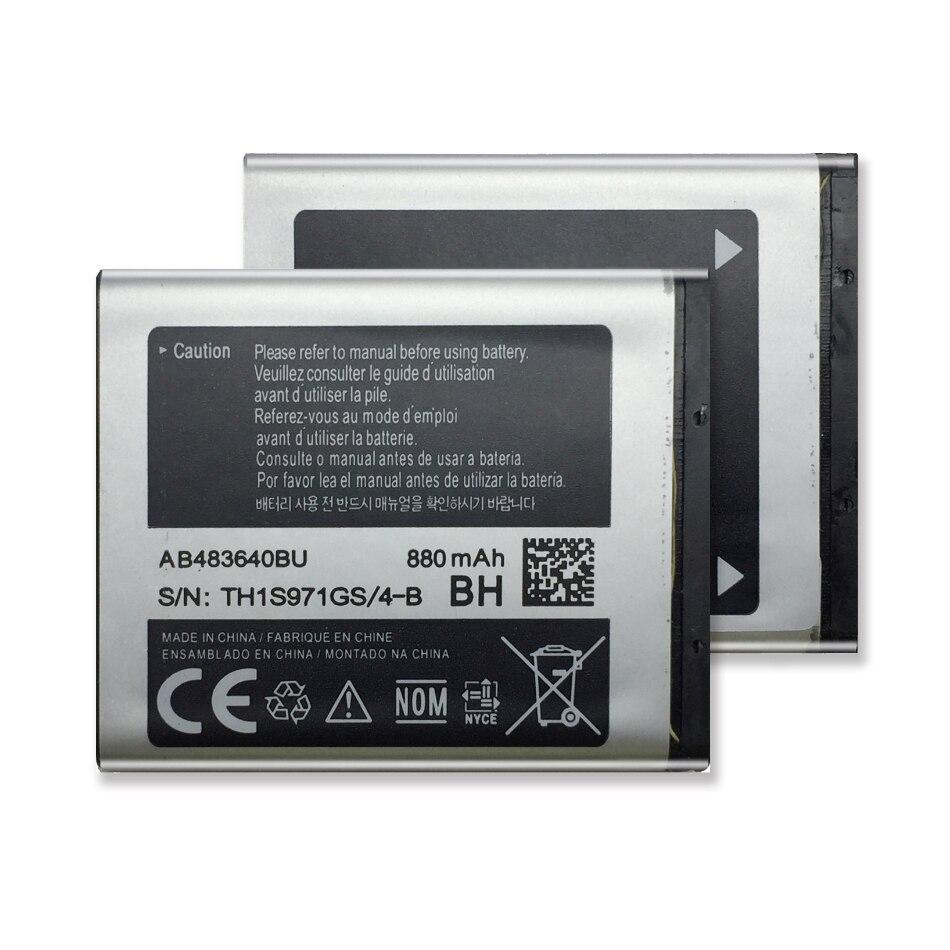 AB483640BU For Samsung Battery SL-M608 J600 J608 B3210 C3050 E740 E748 F110 F118 F619 G618 J218 Battery