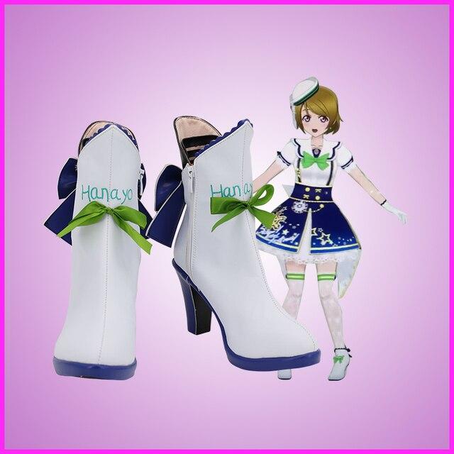 Фото lovelive! hanayo koizumi/обувь для костюмированной вечеринки; цена