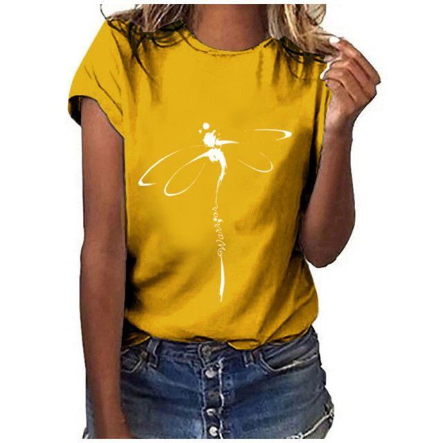 dragonfly design tee 6