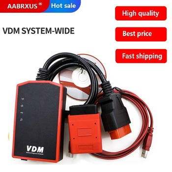 2020 High Quality VDM UCANDAS V3.9 WIFI Complete system vdm wifi automotive diagnostic tool online update DHL free shipping