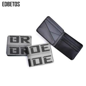 Image 3 - EDBETOS BRIDE wallet Auto Wallet BRIDE Purse JDM VERSION 2 Racing Seat Fabric and Leather Canvas takatas Wallet key case