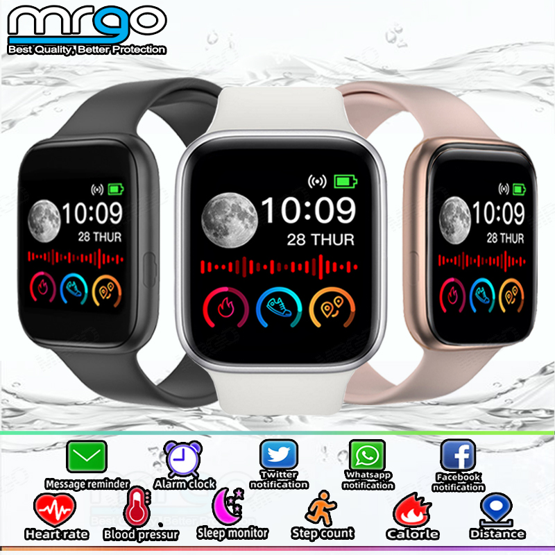 2020 New Smart Watch 1.54inch Men Women Fitness Sport Heart Rate Monitor Smartwatch for Android Bluetooth Connect Smart Watch 1