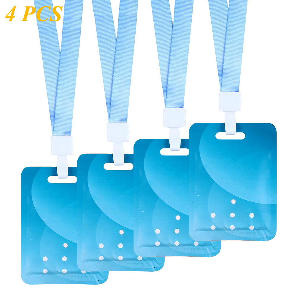 Air Sterilization Card Space Disinfection Protection Card Air Purifier With Lanyard For Kids Adults Multi-functional Cleaner