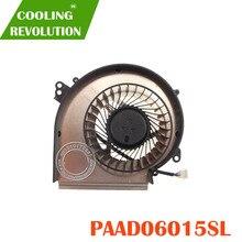 Новый охлаждающий вентилятор AAVID THERMALLOY PAAD06015SL 0.55A 5VDC  N374