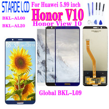 Tested LCD For Huawei Honor V10 BKL-AL00 BKL-AL20 / View 10 Global BKL-L09 Display + Touch Screen Digitizer Assembly