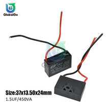 CBB61 1UF 1.2UF 1.5UF 1.8UF 2UF 2.5UF 3UF 3.5UF AC Motor Speed Run Capacitor Fan Refrigerator Start Capacitors