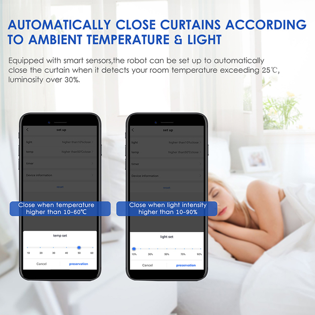Smart curtain controller and electric curtain motor realize smart home voice control, automatic control, and timing control by r 2