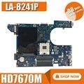LA-8241P материнская плата для ноутбука For DELL Inspiron 15R-5520 оригинальная материнская плата HD7670M